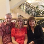 Cindy Feshbach with John and Lynda Allender