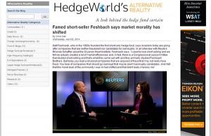Rhonda Schaffler Interview with Matt Feshbach - Reuters Insider